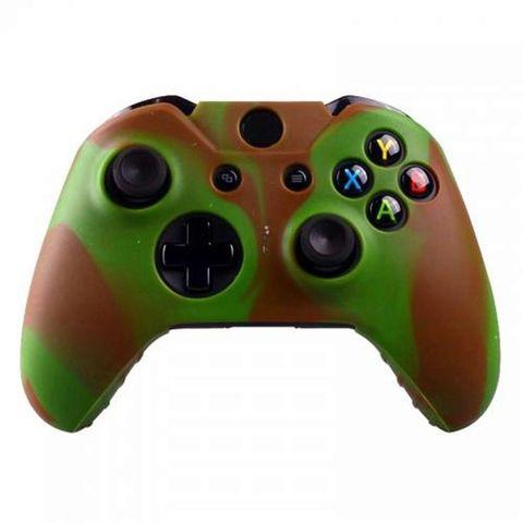 Чехол для геймпада (Xbox One, камуфляж серо-коричневый)