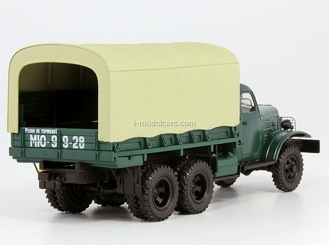 ZIS-151 board with awning DIP 1:43