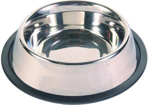 Trixiе 24852 Миска д/собак на резинке, металл 0,7л*ф14см
