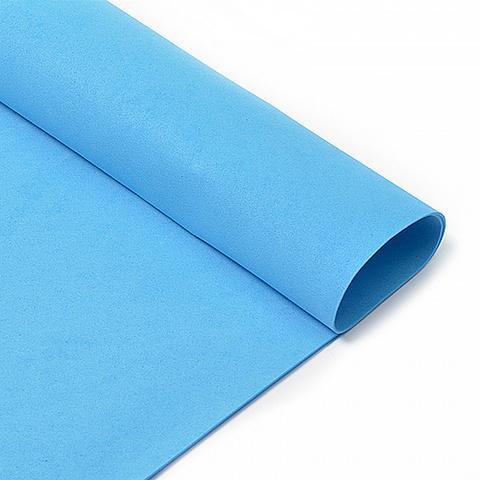 Фоамиран 1мм синий
