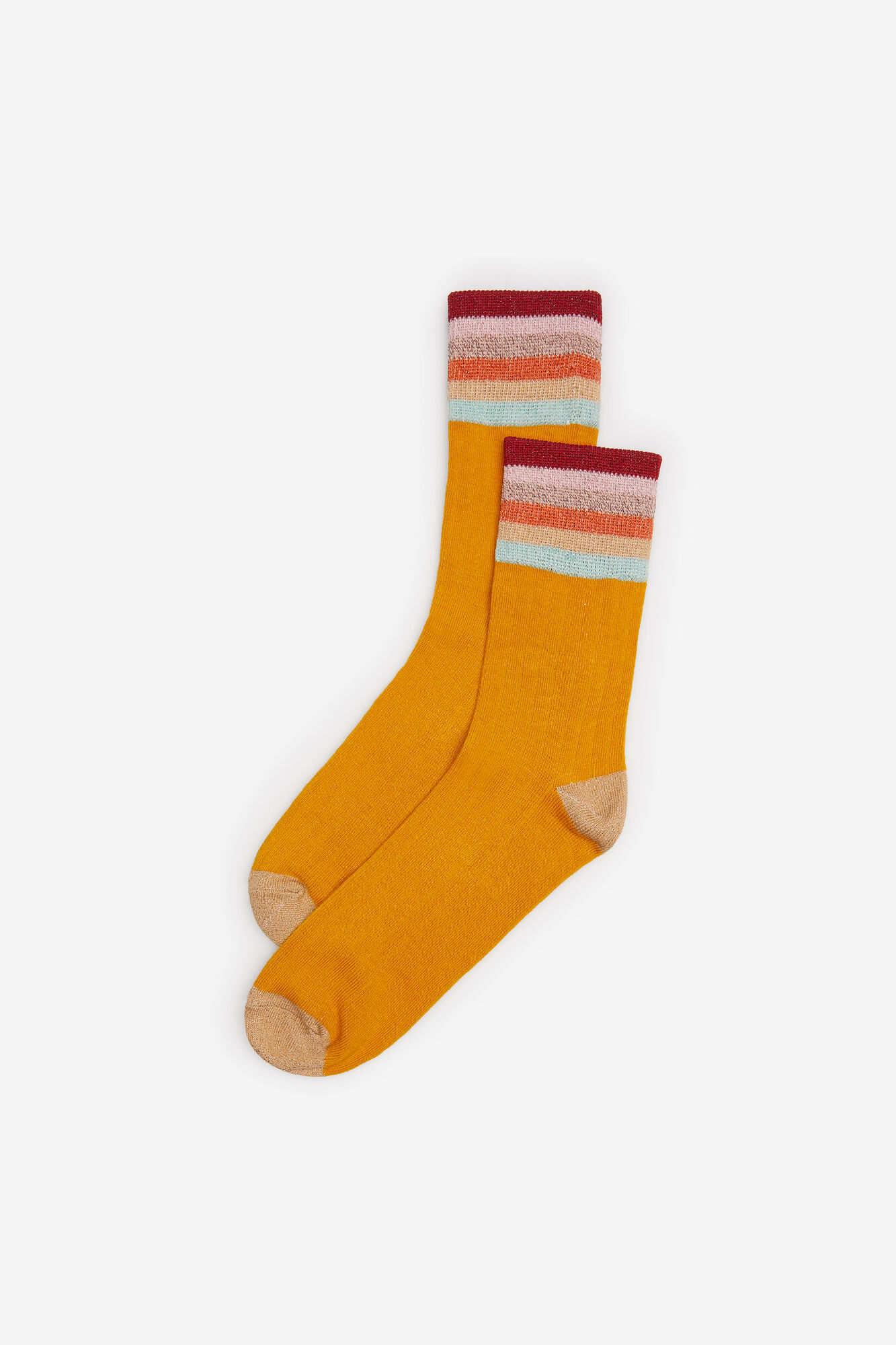 Шкарпетки з кольоровими смужками