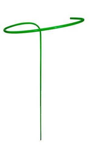 Опора для цветов малая H-1,4м,диам.-0,4 ст.тр.-10мм, ПВХ