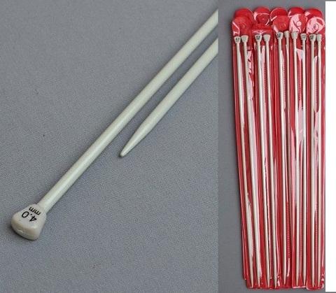 Спицы тефлоновые 40 см от 2мм до 7 мм