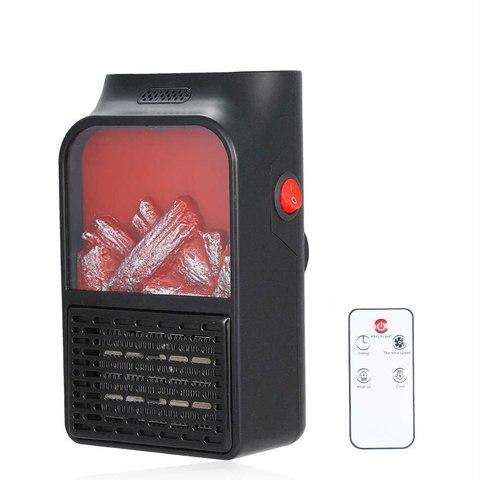 Портативный обогреватель-камин с пультом Flame Heater
