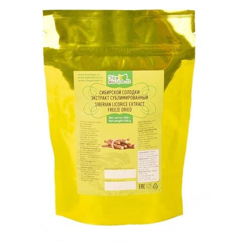 Экстракт солодки в ZIP-пакете Экоцвет, 100г