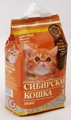 Наполнитель для кошачьего туалета, Сибирская Кошка для котят