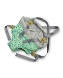 Рюкзак-кенгуру - Салатовый. Одежда для кукол, пупсов и мягких игрушек.