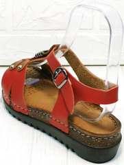 Удобные сандалии женские босоножки на низкой платформе Rifellini Rovigo 375-1161 Rad.