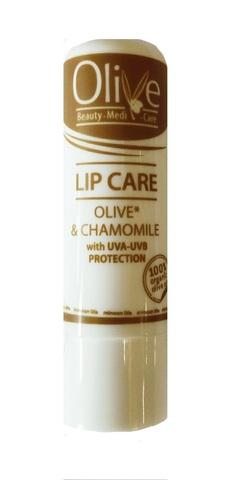 Гигиеническая помада увлажняющая Olive Beaty Medi Care с ромашкой