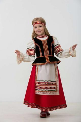 Славянский костюм (девочка).