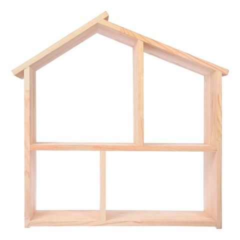 Полка - домик 60х60х15 см, сосна