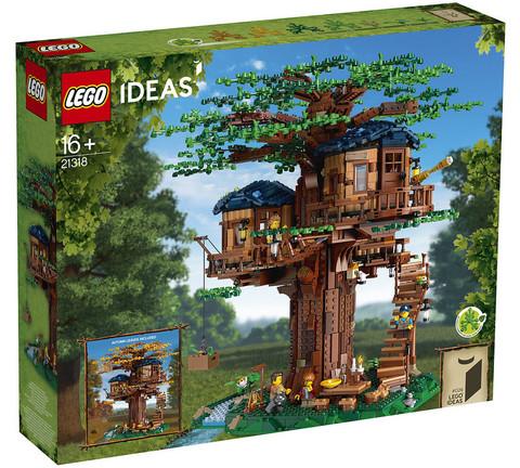 LEGO Ideas: Дом на дереве 21318 — Tree House — Лего Идеи