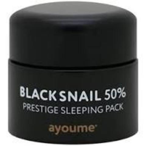 Ночная маска с муцином черной улитки Ayoume Black Snail Prestige Sleeping Pack