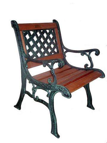 Кресло чугунное «Нассау»