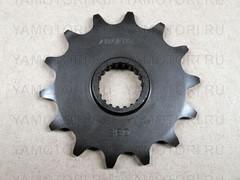 Звезда передняя (ведущая) Sunstar 3B014 JTF1446 для мотоцикла Kawasaki  14 зубьев