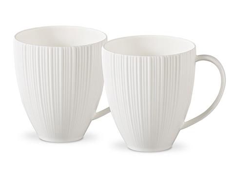 9353 FISSMAN Elegance White Кружки 2 шт / 400 мл,  купить