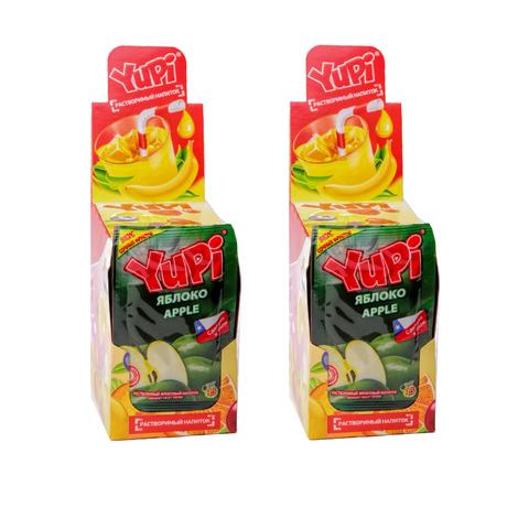 Растворимый напиток YUPI Яблоко 15г*24шт*6 бл