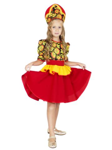 Карнавальный костюм Хохломской сувенир детский