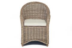 Кресло Secret De Maison Майсонет (MAISONET) c подушкой — натуральный серый/natural grey