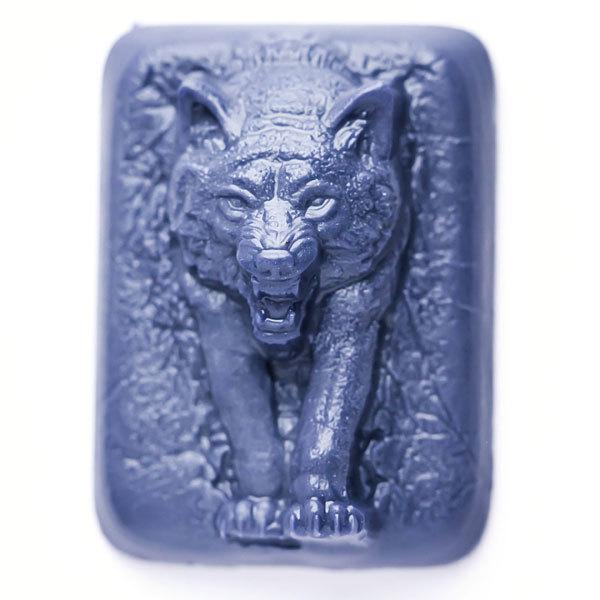 Форма для мыловарения Волк из темноты