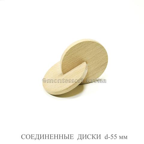 СОЕДИНЕННЫЕ ДИСКИ d=55 мм