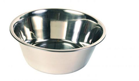 Trixiе 24843 Миска д/собак, металл 1,8л*ф20см