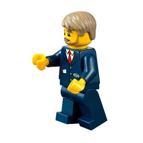 LEGO City: Автобусная остановка 60154 — Bus Station — Лего Сити Город