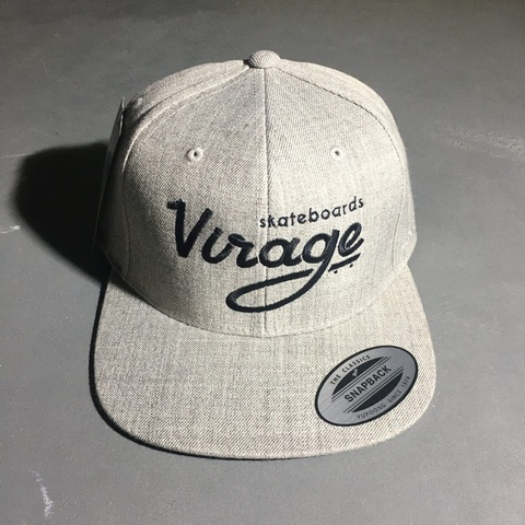Кепка Virage skateboards logo snapback HEATHER GREY Размер Универсальный
