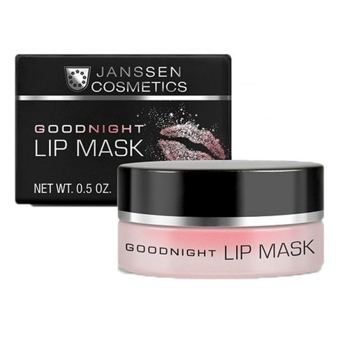 Ночная восстанавливающая маска для губ Janssen Goodnight Lip Mask,15 мл