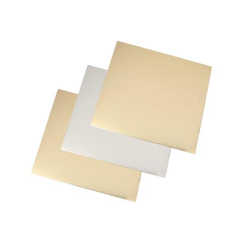 Подложка усиленная двухсторонняя, 1,5 мм (золото/жемчуг), 22х22 см