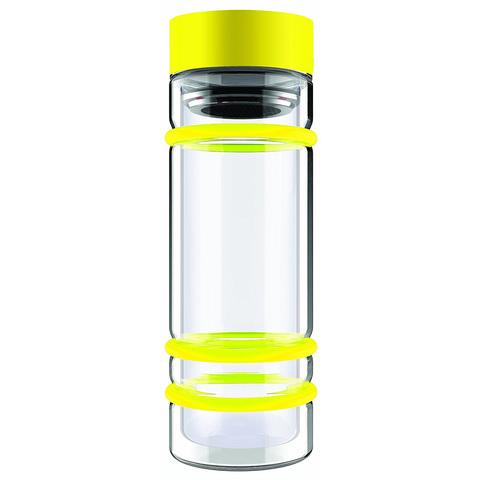 Бутылка Asobu Bumper (0,4 литра), желтая