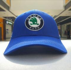 Бейсболка Шкода синяя (Кепка Skoda)