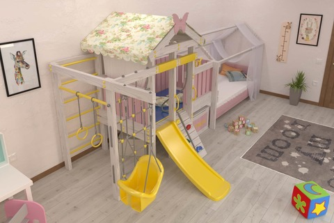 Игровой комплекс - кровать