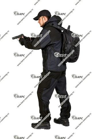 Камуфляжный костюм «Горка-4» Черный. Фото 4