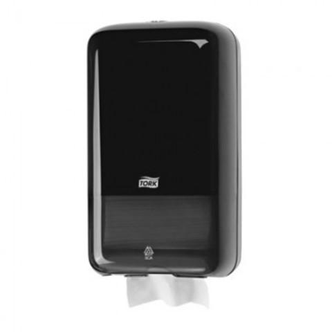Диспенсер для туалетной бумаги в листах Tork Elevation Т3 556008 пластиковый черный