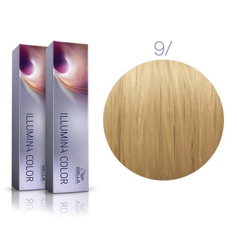 Wella Professional Illumina Color 9/ (Очень светлый блонд) - Стойкая крем-краска для волос