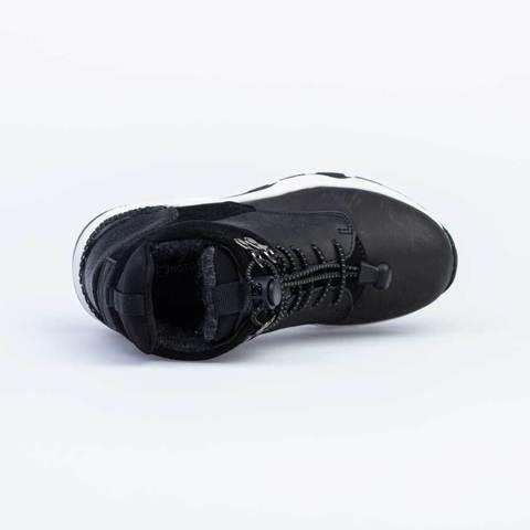 Ботинки, черный,