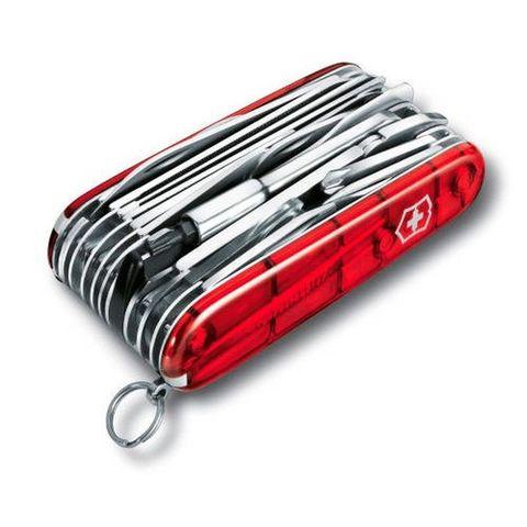 Нож перочинный Victorinox SwissChamp XLT (1.6795.XLT) 91мм 49функций красный