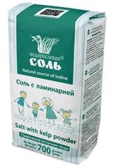Garnec Водорослевая соль с ламинарией 700 гр