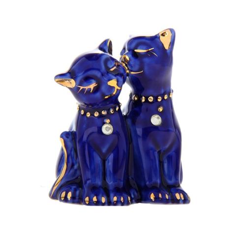 Кошечки синие мини