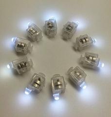 Подсветка в шар Белого свечения, 10 шт.