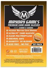 Протекторы для настольных игр Mayday Premium Yucatan Narrow Card Game (54x80) - 50 штук