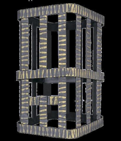 Сетка на трубу для Ураган (250х250х350) Гефест ЗК 18/25/30, Гром 30 под шибер