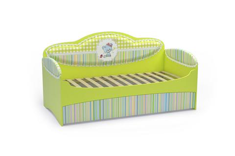 Диван-кровать для девочек Mia Лайм