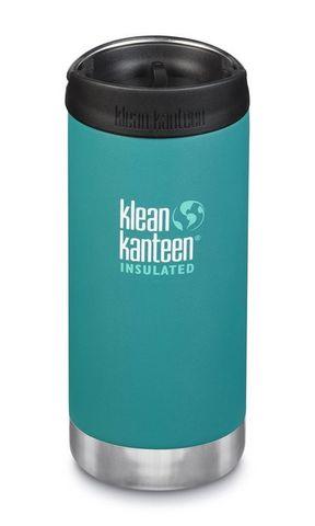 Термобутылка Klean Kanteen TKWide Cafe Cap 12oz (355 мл) Emerald Bay