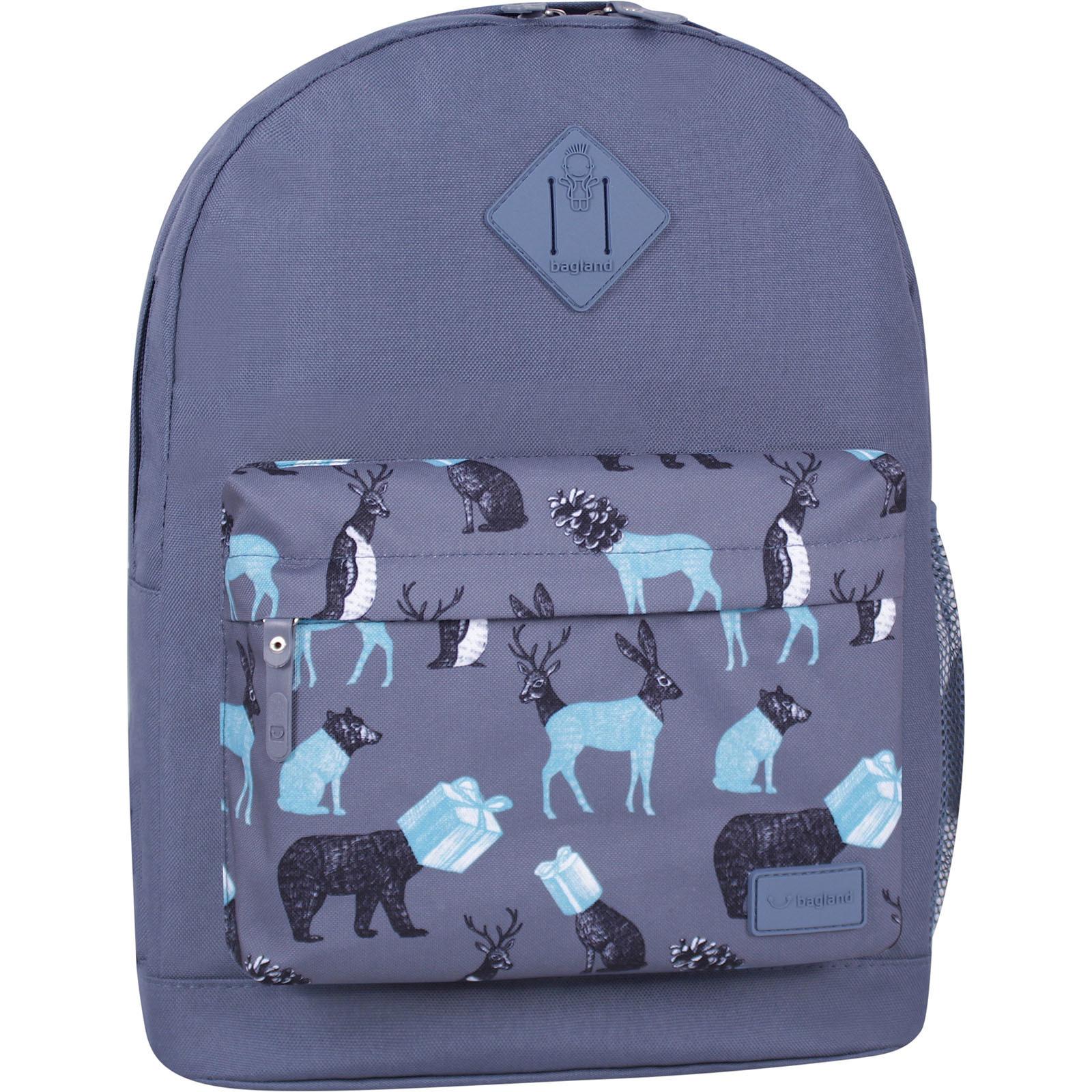Молодежные рюкзаки Рюкзак Bagland Молодежный W/R 17 л. Серый 740 (00533662) IMG_6365_суб.ю740_.JPG