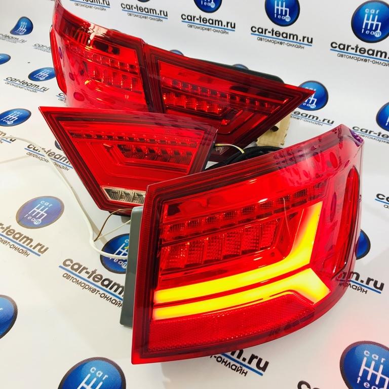 Задние светодиодные фонари на Лада Веста, красные