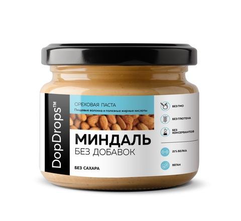 DopDrops Паста Миндальная Без Добавок, 250г