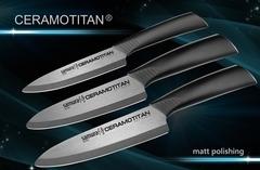 Набор из 3-х кухонных ножей Samura CERAMOTITAN (В отдельных упаковках), арт. SCT-003M