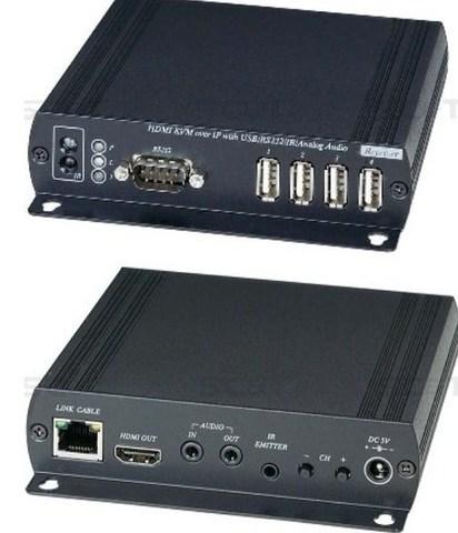 Приемник KVM по Ethernet HKM01BR